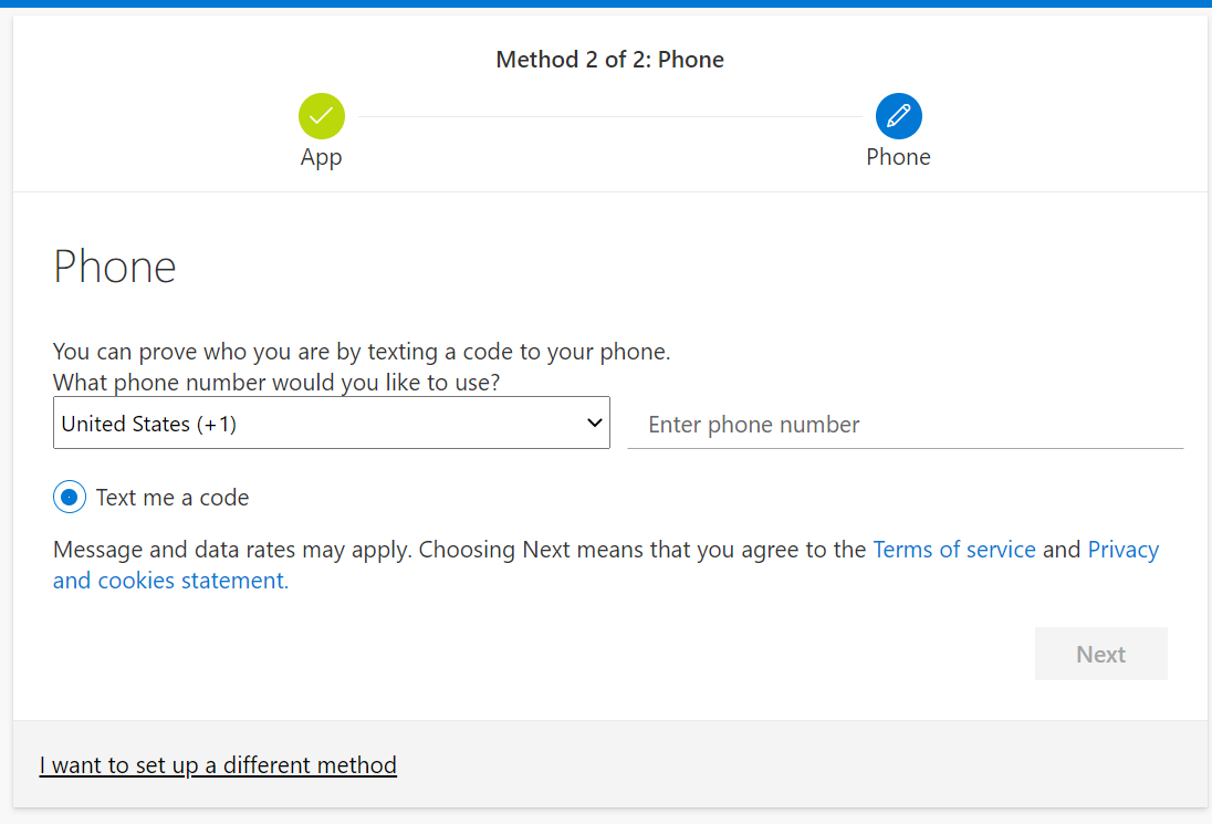 2FA Phone Allow Notifications