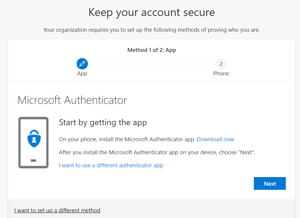 Keep Your Account Secure Microsoft Authenticator
