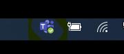 Teams Icon in System Tray